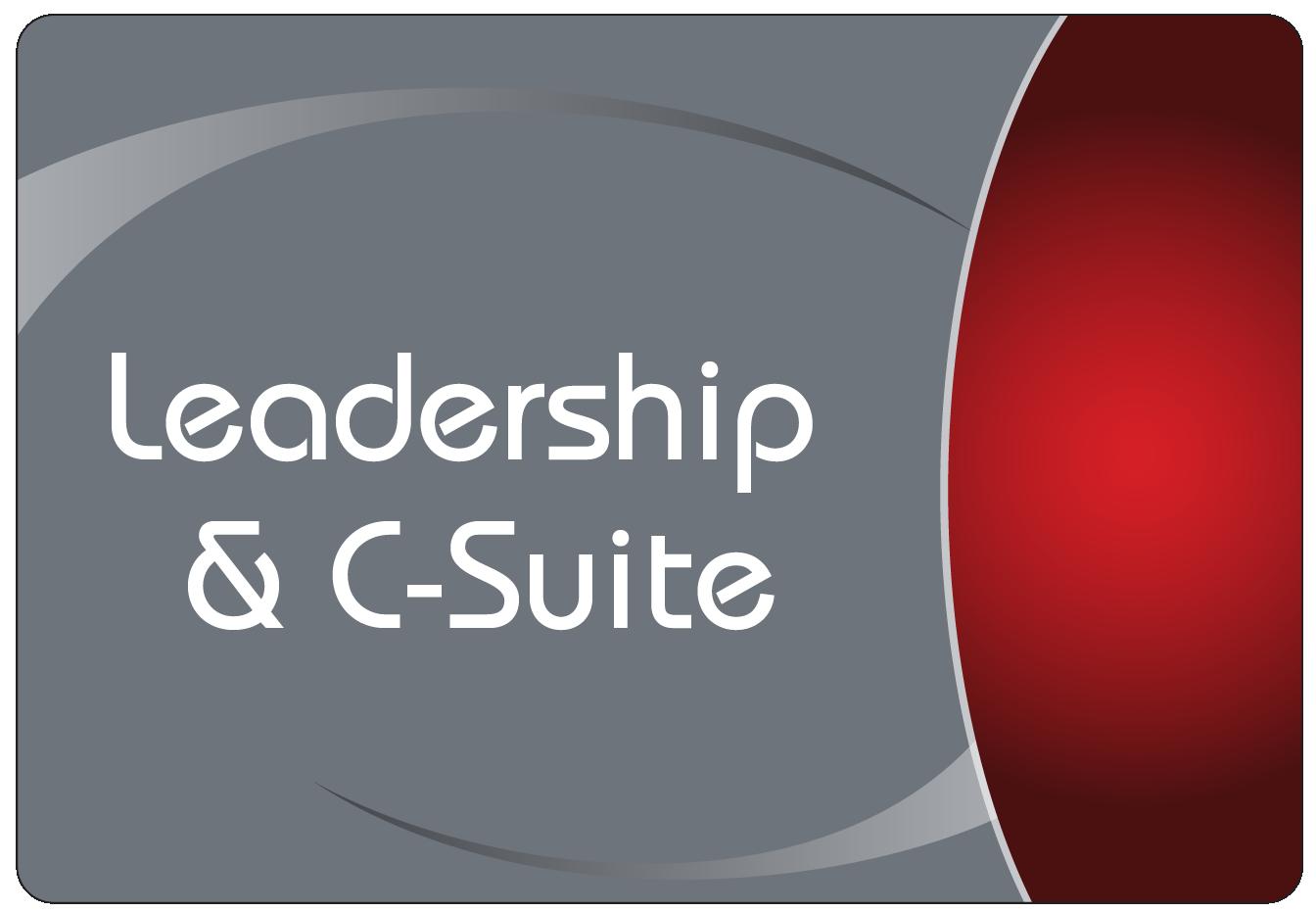 Leadership C-Suite