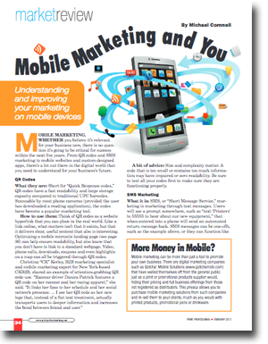Mobile Marketing and You